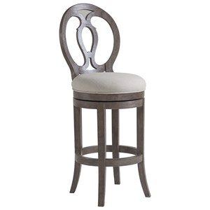 Axiom Swivel Barstool