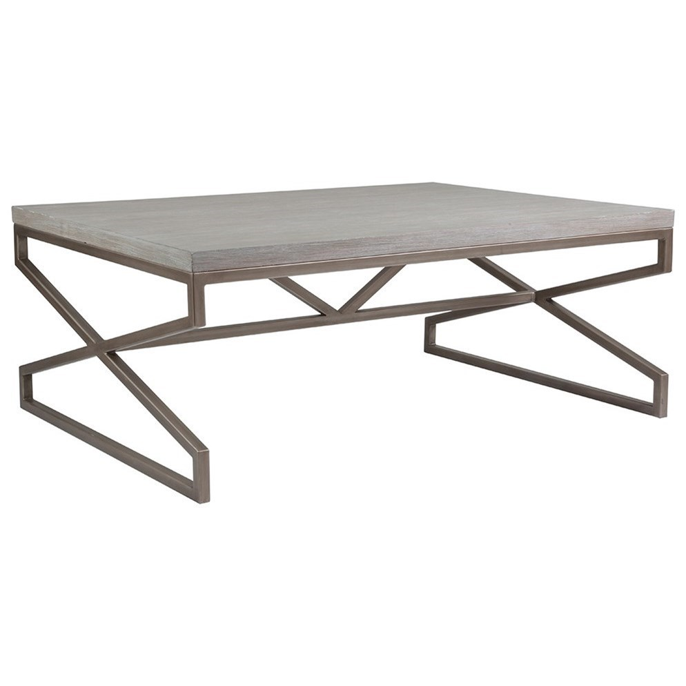Artistica Cohesion Edict Rectangular Cocktail Table - Item Number: 2088-945-40