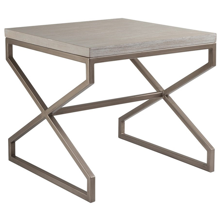 Artistica Cohesion Edict Square End Table - Item Number: 2088-957-40
