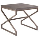 Artistica Cohesion Edict Square End Table - Item Number: 2088-957-41