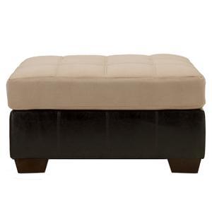 Ashley Furniture Gable - Mocha Oversized Accent Ottoman
