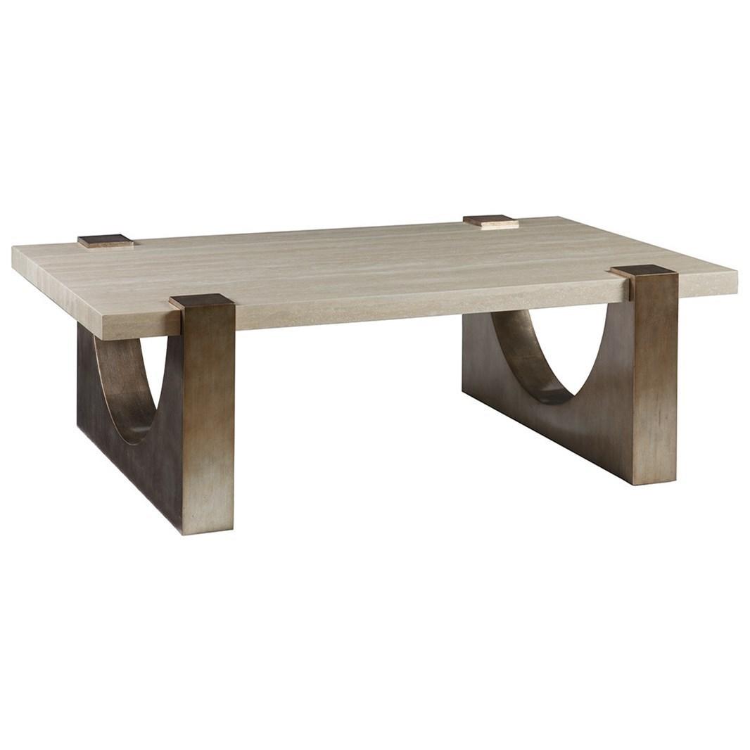 Artistica Impresario Rectangular Cocktail Table - Item Number: 2060-945