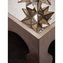 Artistica Van Cleef 2059 Glam Console Table With Mirrored Top