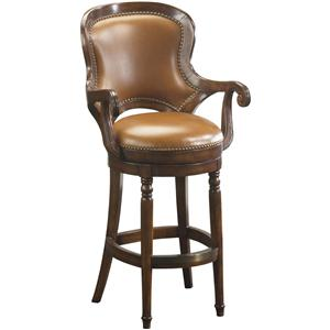 Artistica Winston Leather Barstool