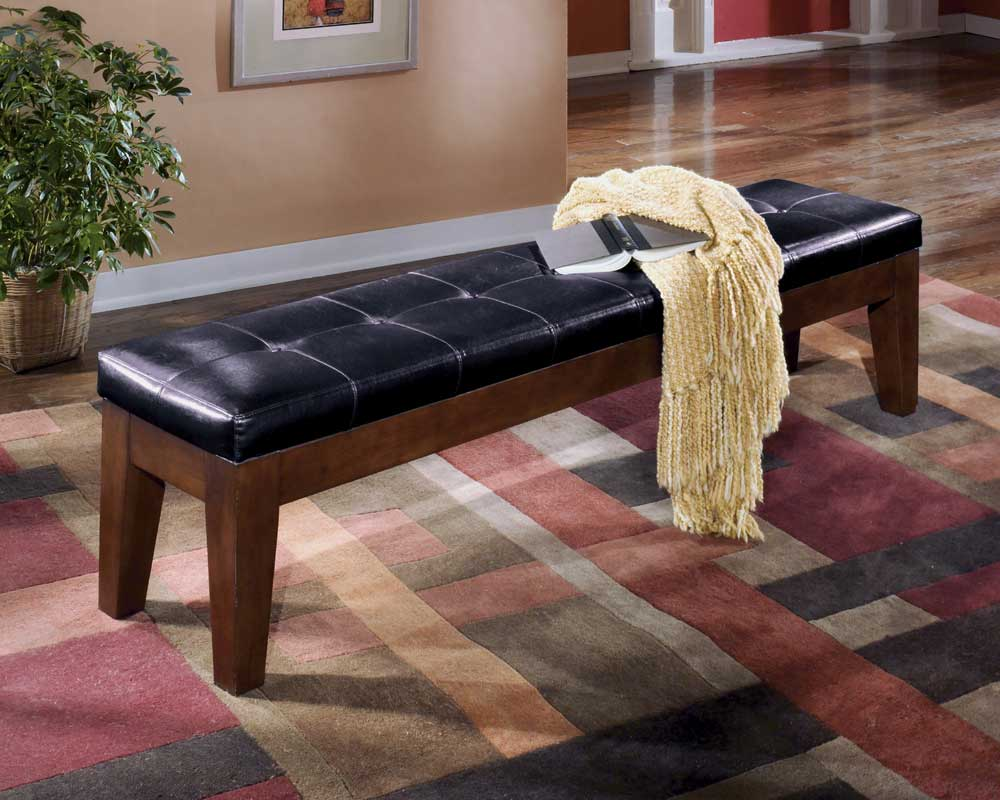 Signature Design by Ashley Larchmont Wide Bench - Item Number: D442-09