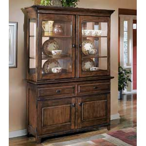 Signature Design by Ashley Larchmont China Cabinet and Buffet
