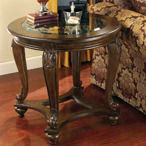 Signature Design by Ashley Furniture Norcastle Round End Table