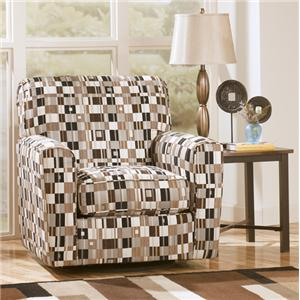 Signature Design by Ashley Furniture Merrifield Pepper Merrifield Pepper Swivel Chair