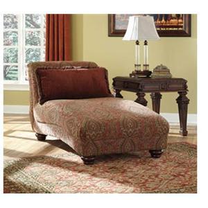 Ashley Furniture Ledelle Antique Ledelle Chaise