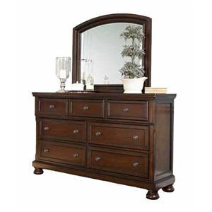 Ashley Furniture Porter Bedroom Collection Porter Dresser/Mirror