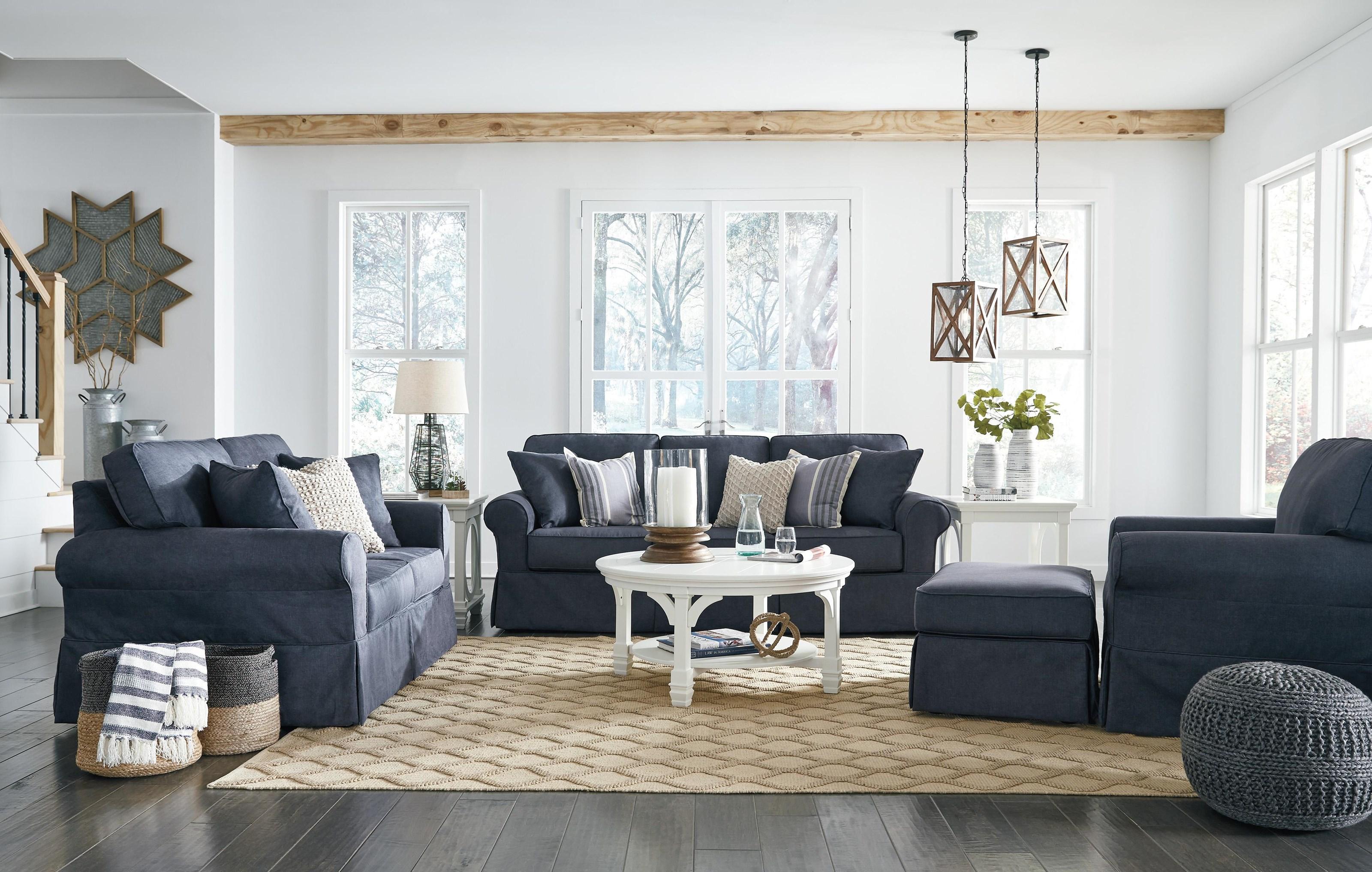 Sofa, Loveseat, Chair and Ottoman Set