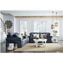 Ashley Furniture Alano Sofa and Loveseat Set - Item Number: 126358022