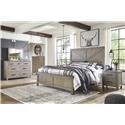 Ashley Furniture Aldwin King Panel Bed Package - Item Number: 573361703
