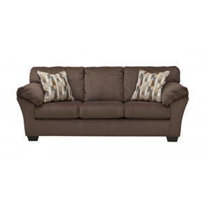 Merveilleux Ashley Furniture 18202 Aluria Chocolate Sofa