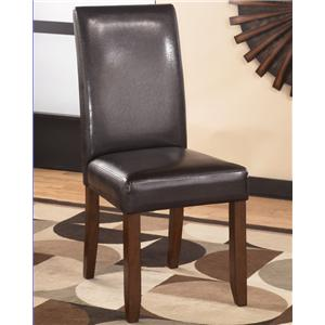 Ashley Furniture Alyn Upholstered Parson Side Chair