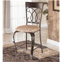 Ashley Furniture Alyssa 24 inch Bar Stool - Item Number: D345-124
