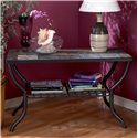 Signature Design by Ashley Antigo Slate Top Sofa Table - Item Number: T2334-233