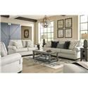 Ashley Furniture Antonlini Sofa, Loveseat, Chair and Ottoman Set - Item Number: 124321249