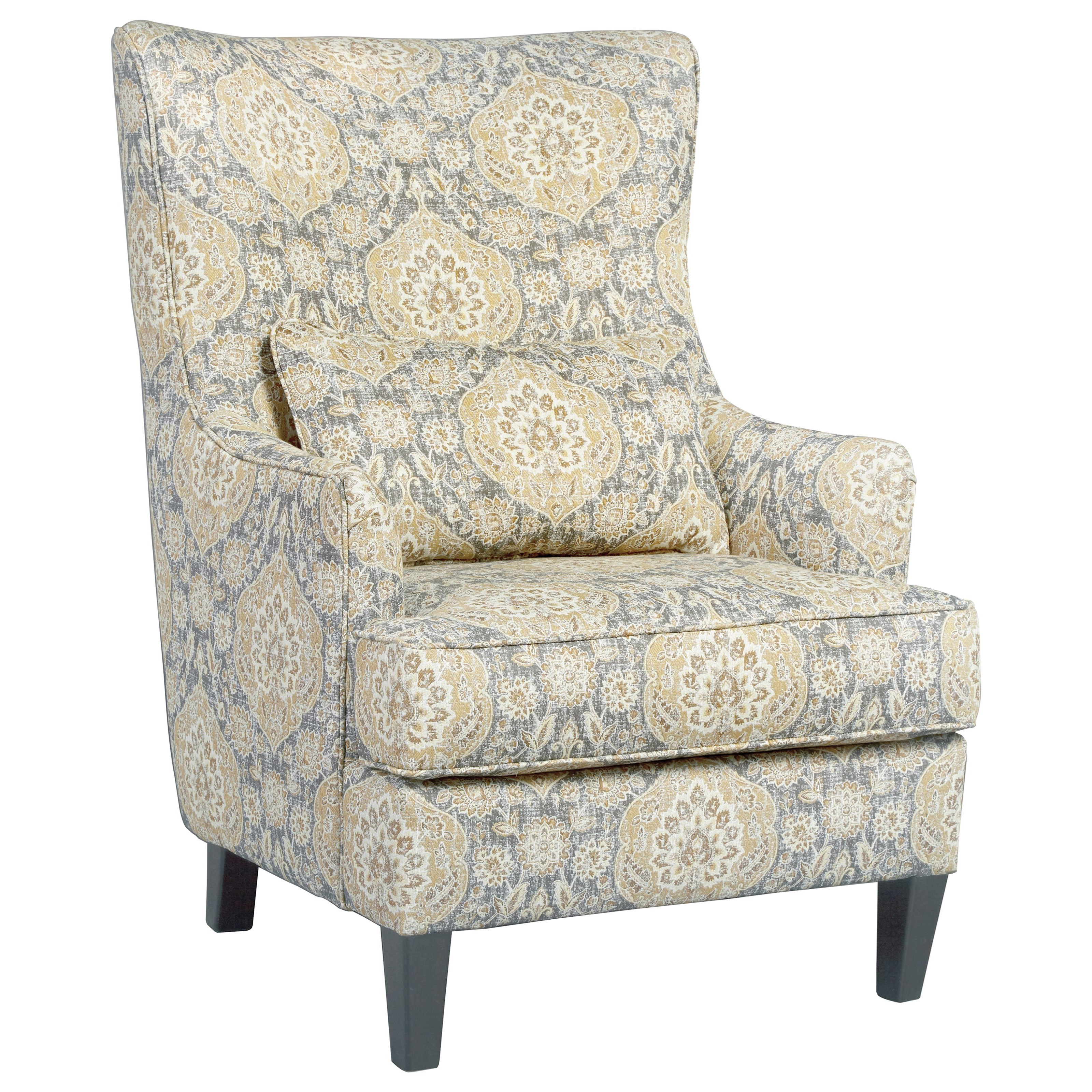 Ashley Furnitiure: Ashley Furniture Aramore 1280522 Scalloped Wingback Accent
