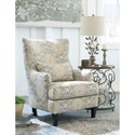 Ashley Furniture Aramore Scalloped Wingback Accent Chair