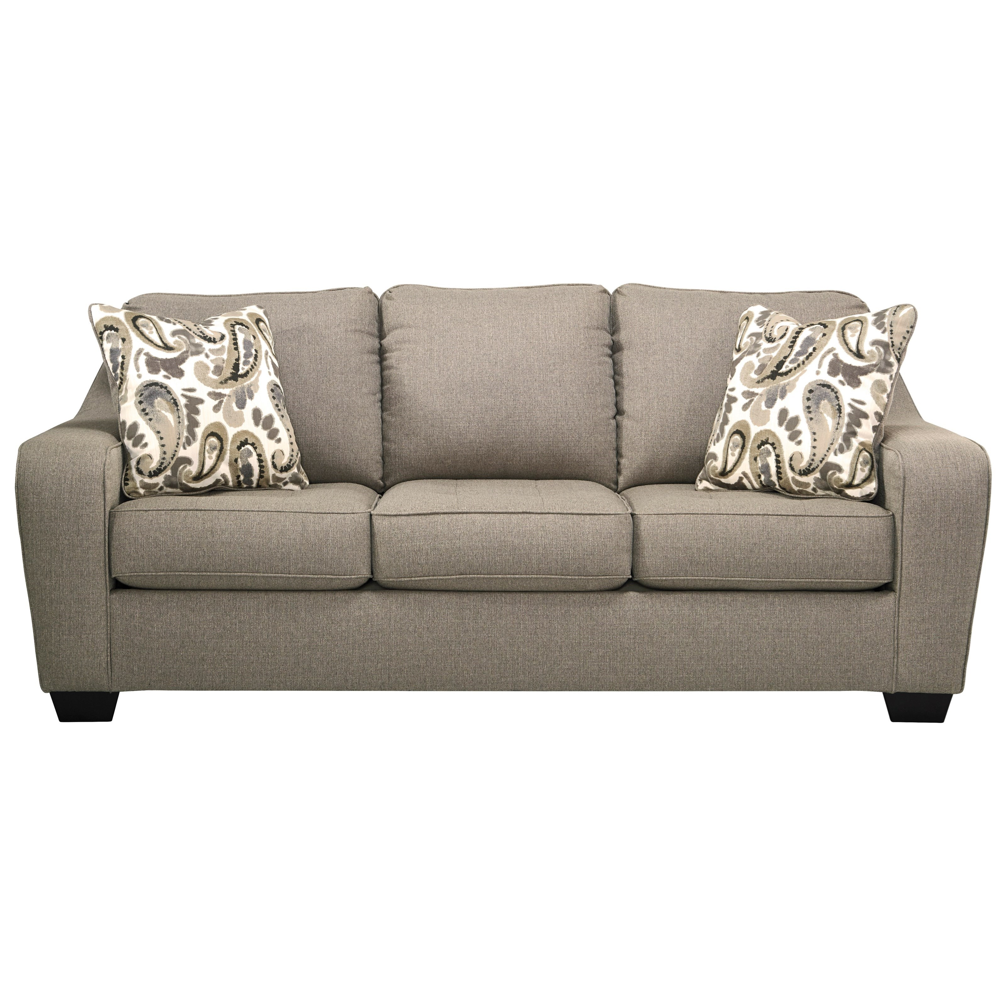 Ashley Furniture Arietta Sofa with Sloping Track Arms Furniture