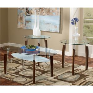 Signature Design by Ashley Furniture Avani 3-in-1 Pack Occasional Tables