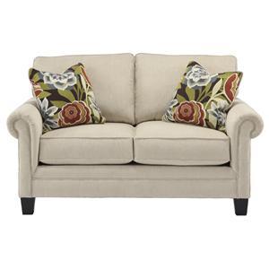 Ashley Furniture Ballari - Linen Loveseat