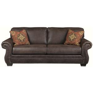 Ashley Furniture Baltwood - Espresso Sofa