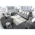 Ashley Furniture Barrali Sofa, Loveseat, Chair and Ottoman Se - Item Number: 124313901