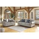 Ashley Furniture Belcampo Sofa and Loveseat - Item Number: 125213405