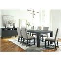 Ashley Furniture Bellvern 8 Piece Dining Room Set with Server - Item Number: 391374990