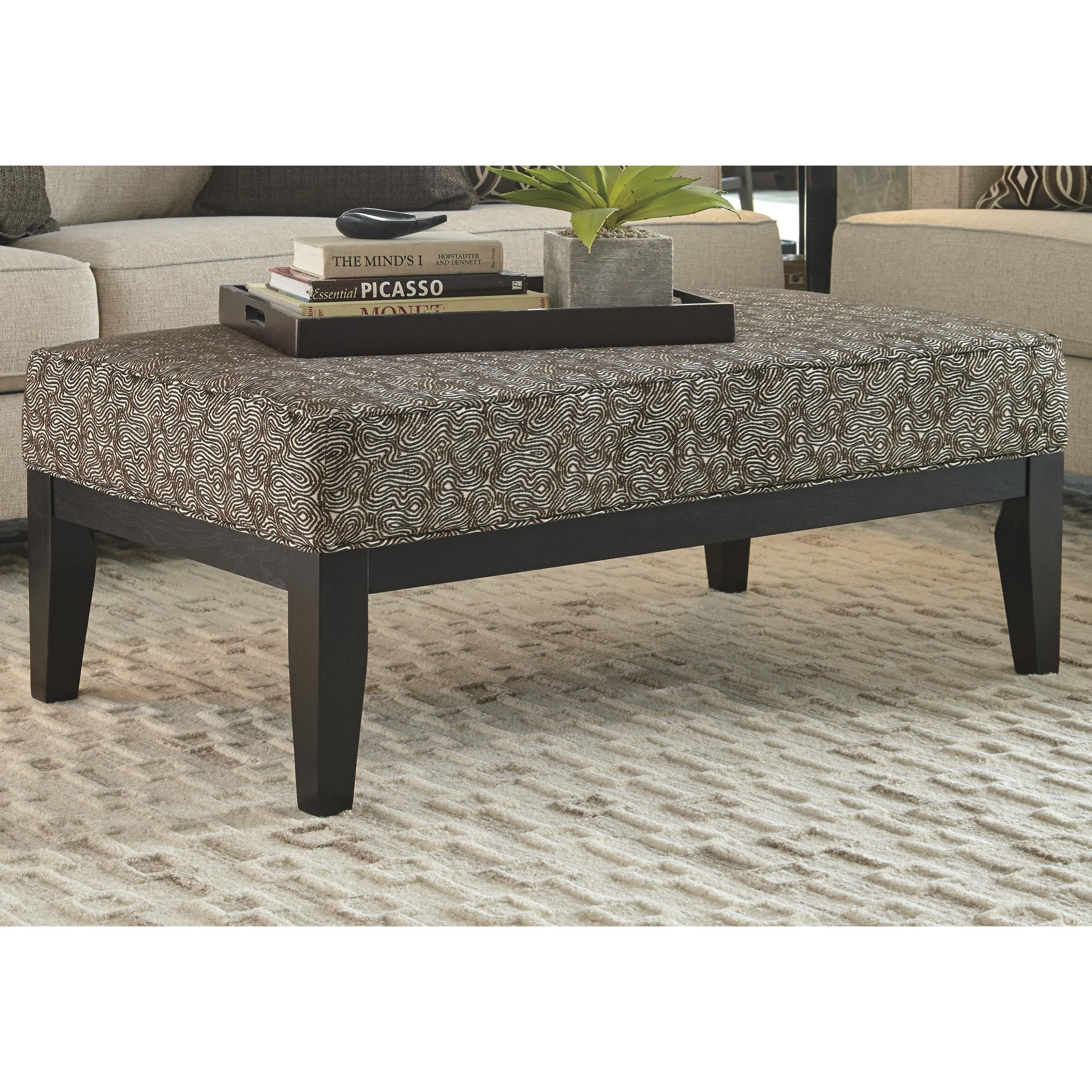 Ashley Furniture Bernat 3510008 Contemporary Oversized Accent Ottoman Furniture And