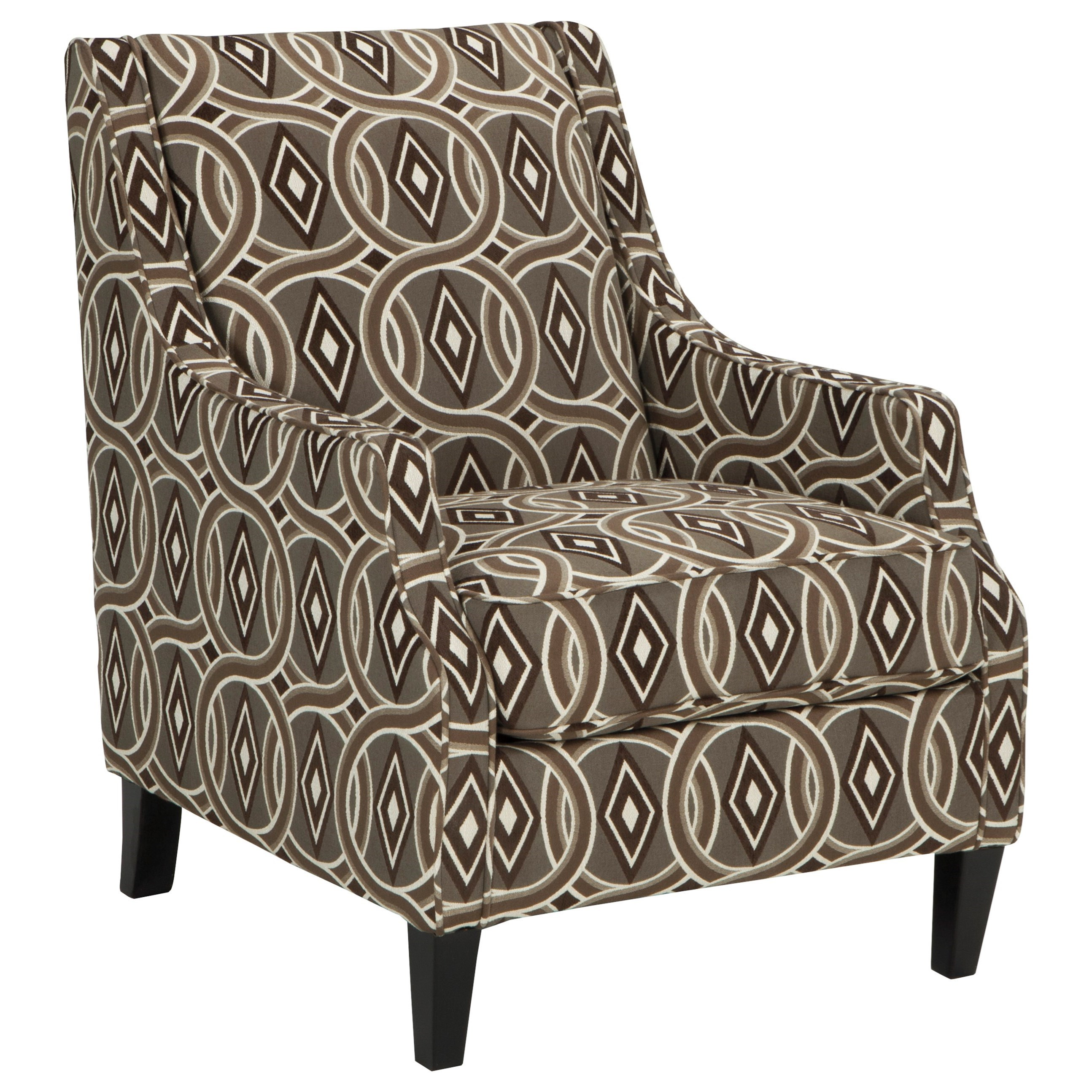 Ashley Furniture Bernat 3510021 Accent Chair With Scoop Arms Del Sol Furniture Upholstered