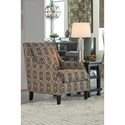 Ashley Furniture Bernat Accent Chair with Scoop Arms