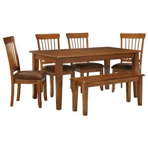 Ashley Furniture Berringer 36 x 60 Table with 4 Chairs & Bench