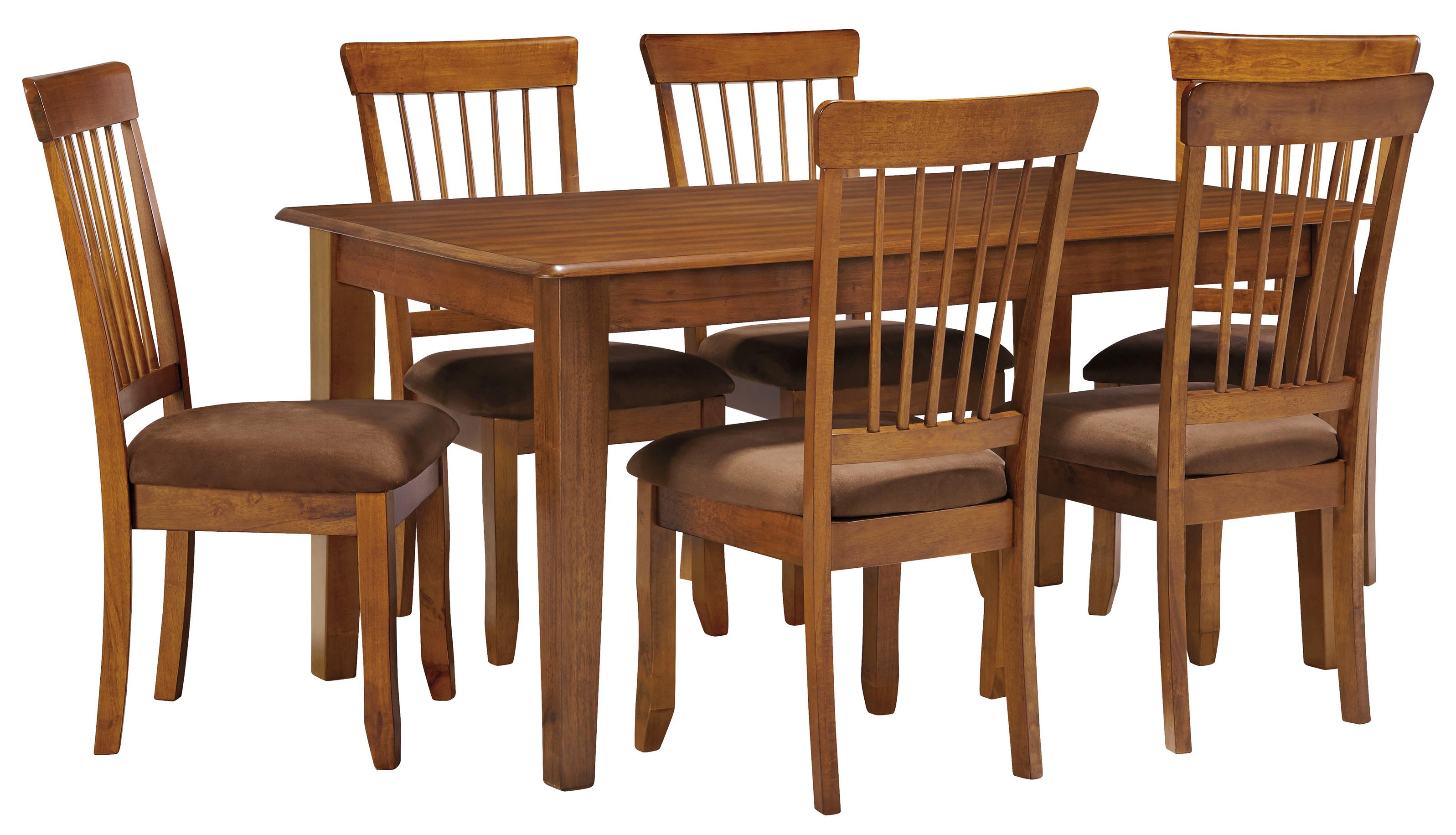 Ashley Furniture Berringer 7 Piece 36×60 Table Chair Set Ahfa  # Muebles Wichita Ks