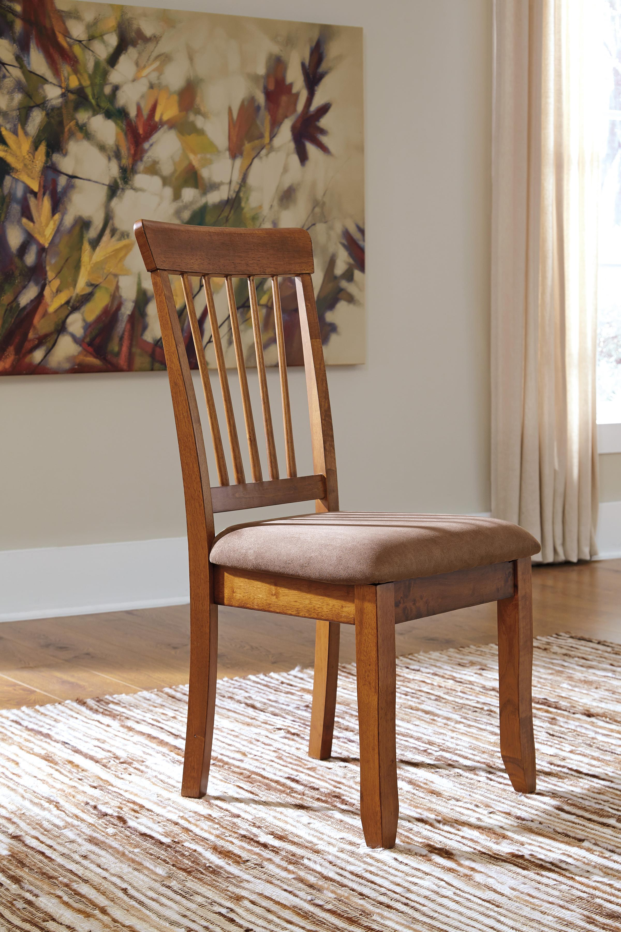 Ashley Furniture Berringer D199-01 Hickory Stained Side