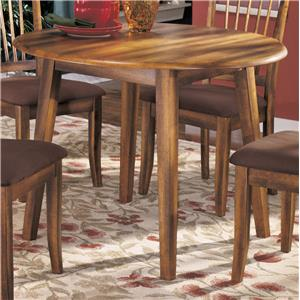 Ashley Furniture Berringer Round Drop Leaf Table