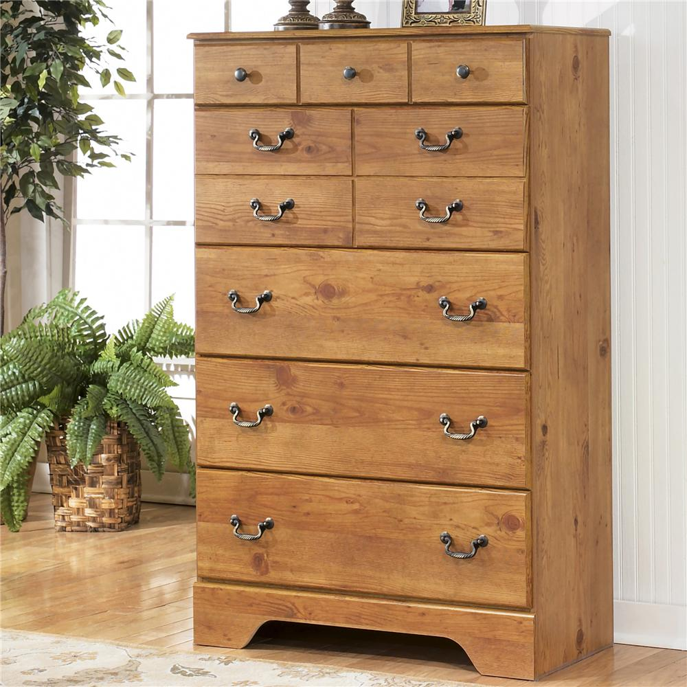 Signature Design by Ashley Bittersweet Five Drawer Chest - Wayside ...