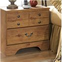 Signature Design by Ashley Bittersweet Two Drawer Night Stand - Item Number: B21992-BS