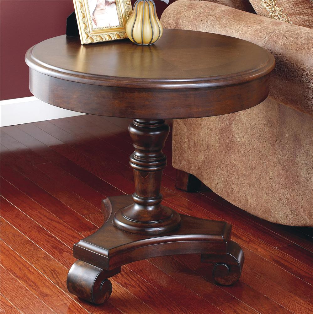 Signature Design By Ashley Brookfield Round End Table   Item Number: T496 6