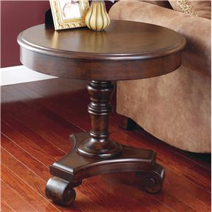 Signature Design by Ashley Brookfield Round End Table