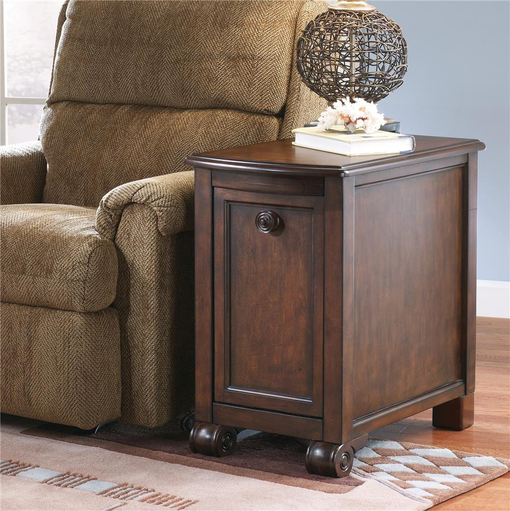 Signature Design by Ashley Brookfield Chairside End Table - Item Number: T496-7