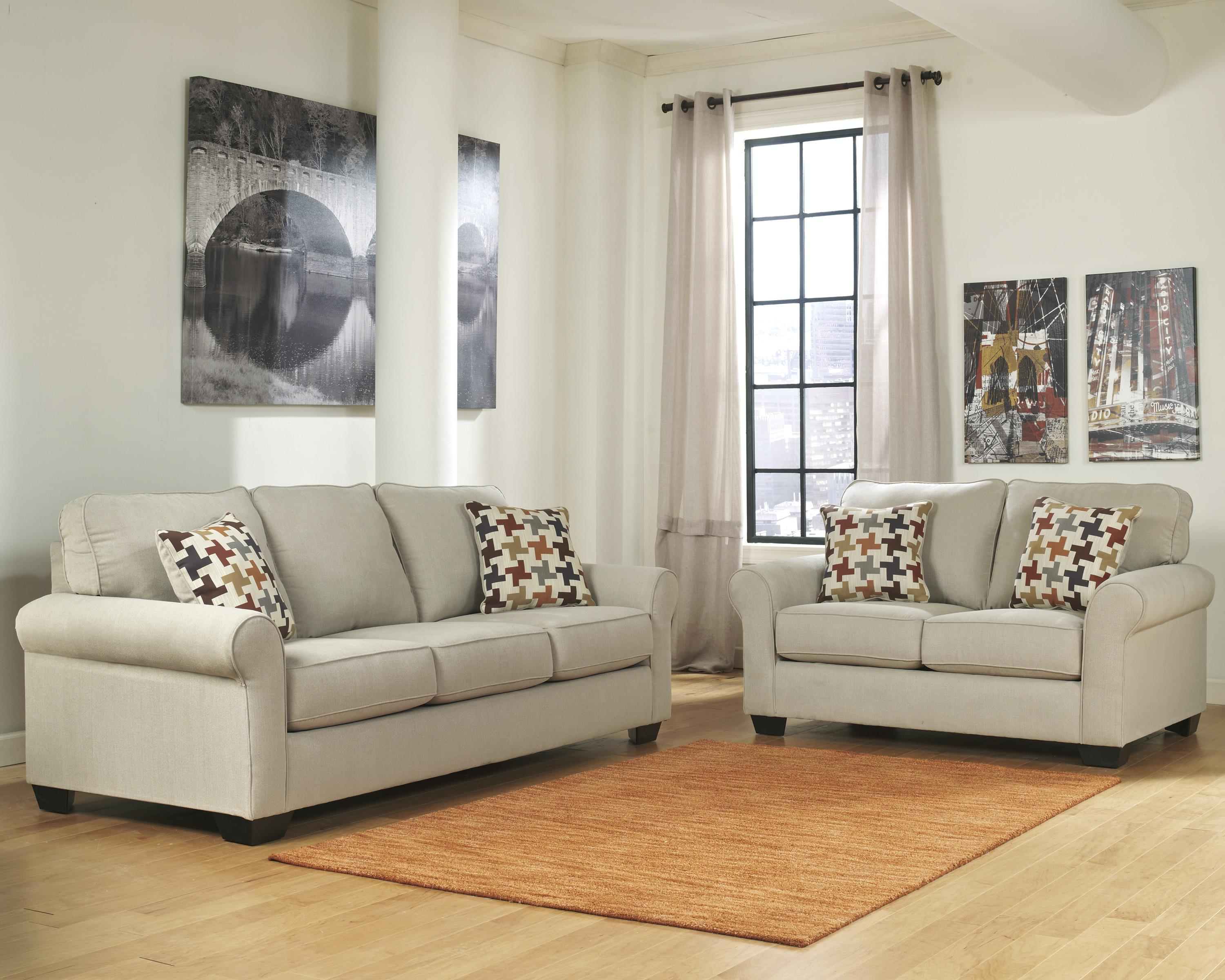 Ashley Furniture Caci Stationary Living Room Group - Item Number: 88202 Living Room Group 1