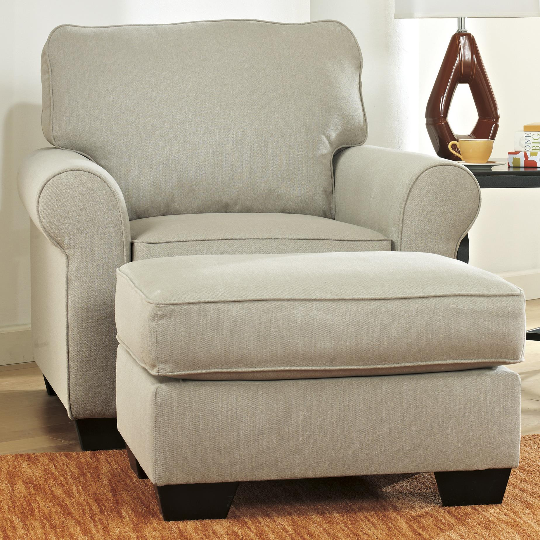 Ashley Furniture Caci Chair & Ottoman - Item Number: 8820220+14