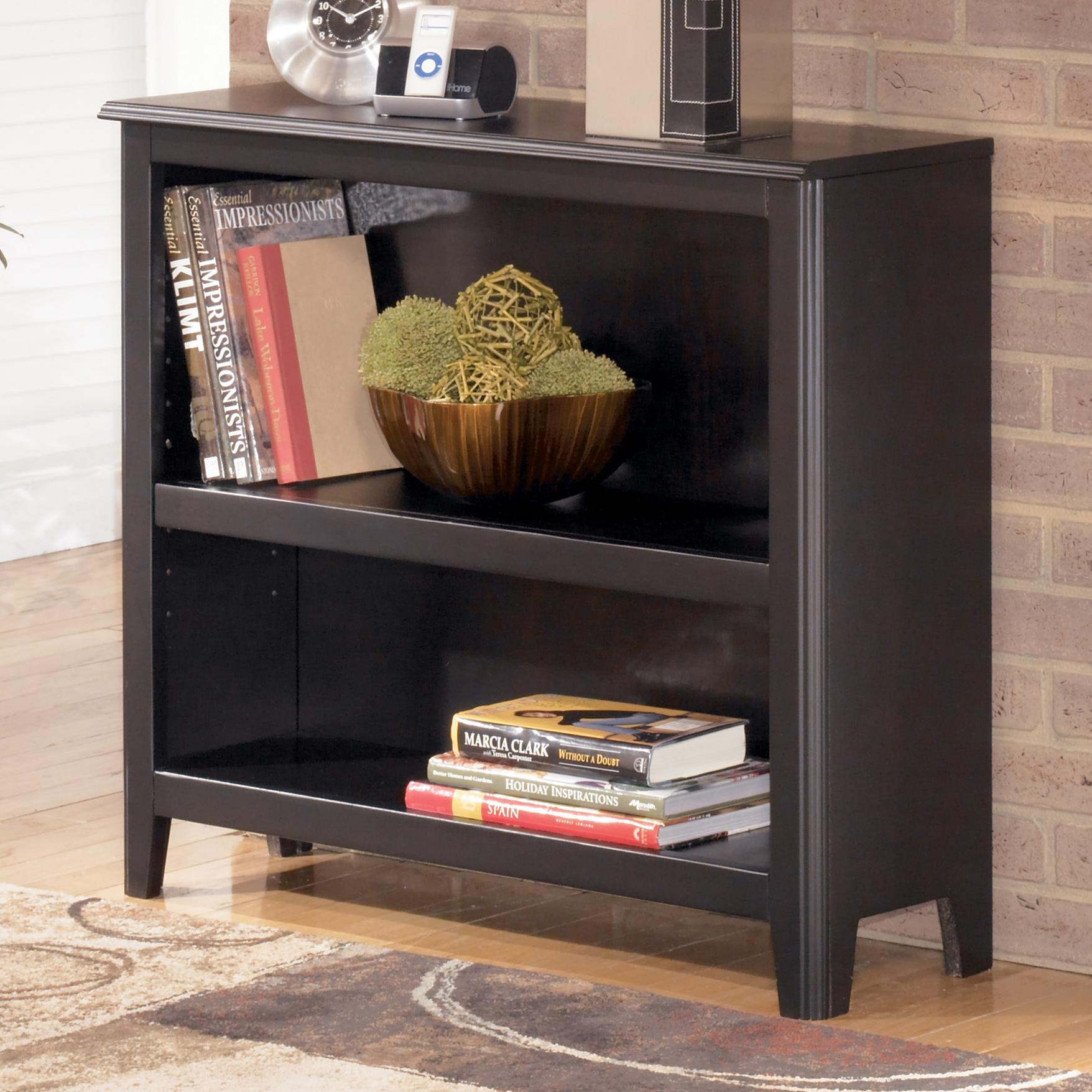 Signature Design by Ashley Carlyle Small Bookcase - Item Number: H371-15