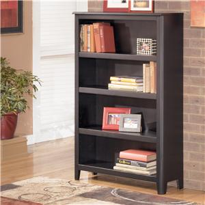 Benchcraft Carlyle Medium Bookcase