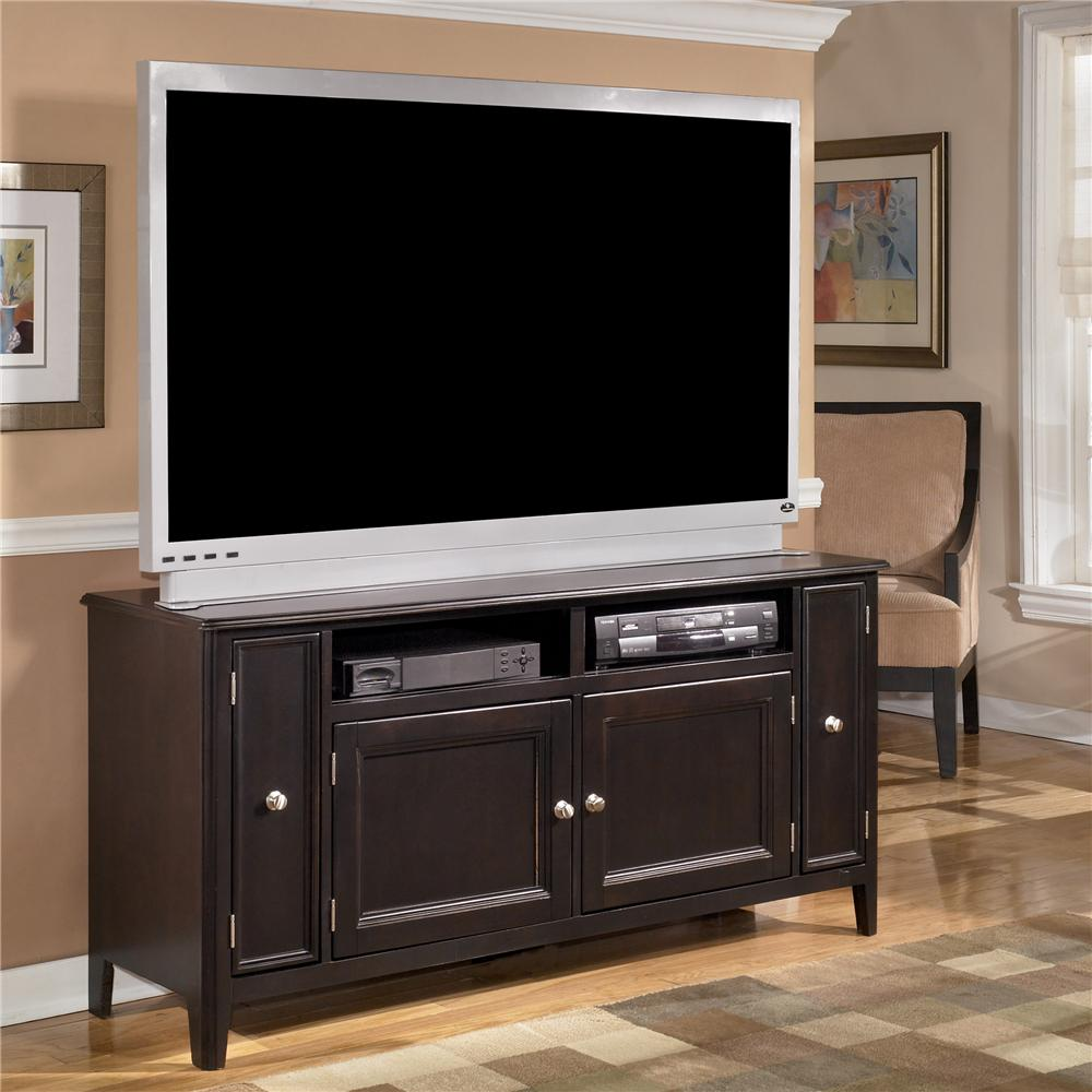 Signature Design By Ashley Carlyle 60 Inch TV Stand   AHFA   TV Stands  Dealer Locator