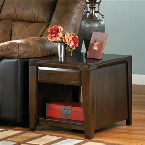 Signature Design by Ashley Caron Rectangular End Table