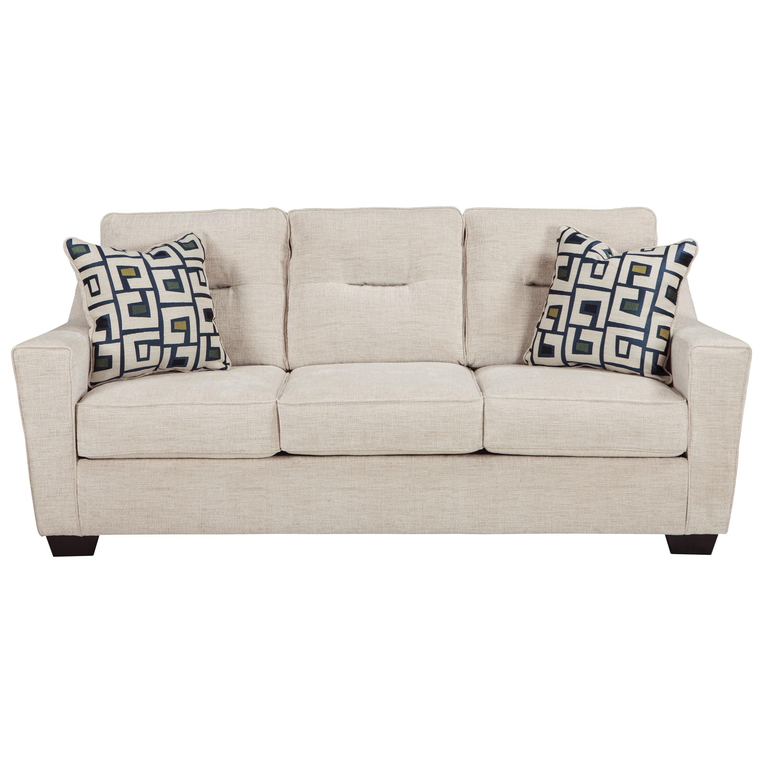 Ashley Furniture Cerdic Contemporary Queen Sofa Sleeper
